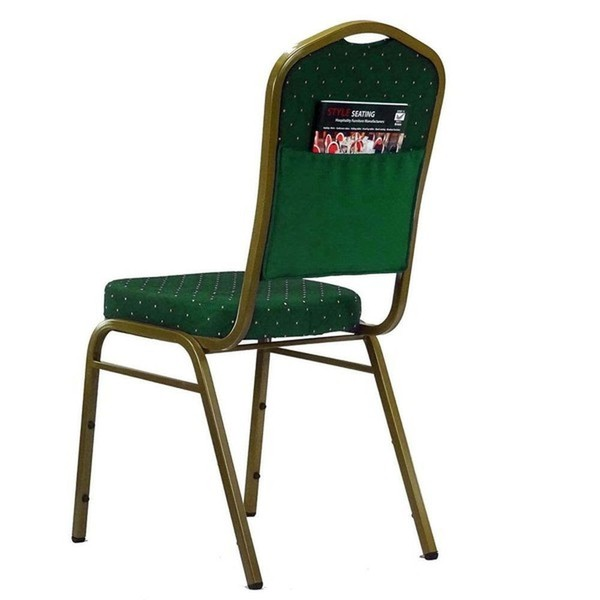 Linking Stacking Event / Venue Chairs with Book Pouch