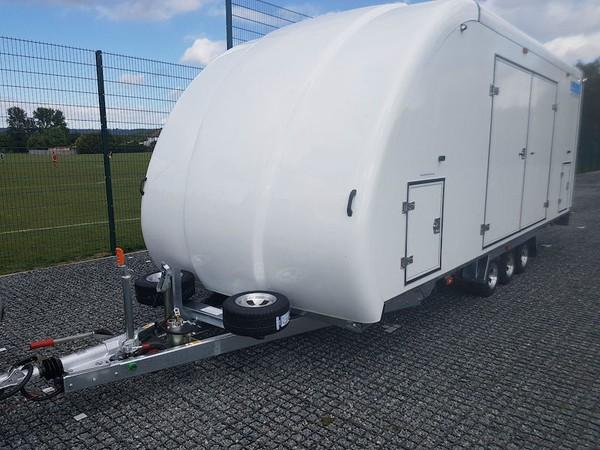 Woodford Galaxy Car Transporter Trailer