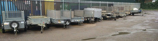 Woodford Galaxy Car Transporter Trailer For SAle