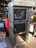 Salva Electric Double Oven On Stand