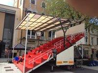 Grandstand trailer for sale