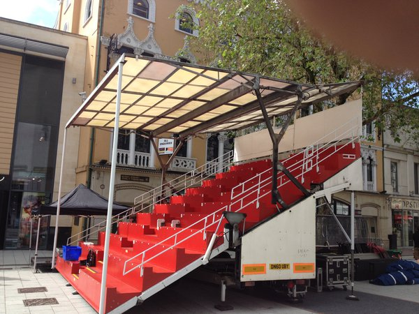Grandstand trailer for sale
