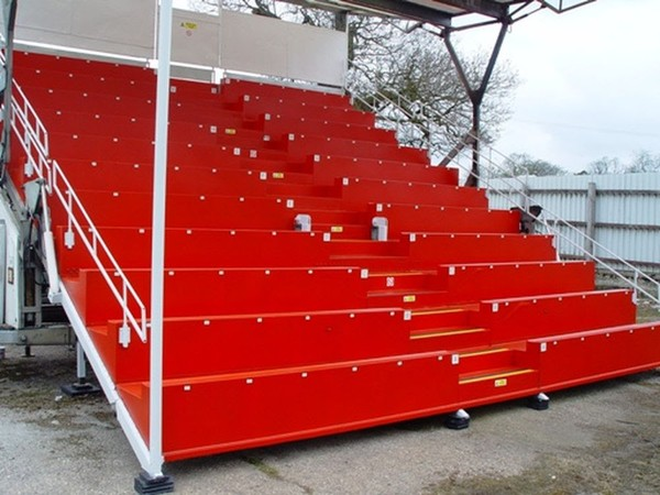Mobile Grandstand 132 Seater