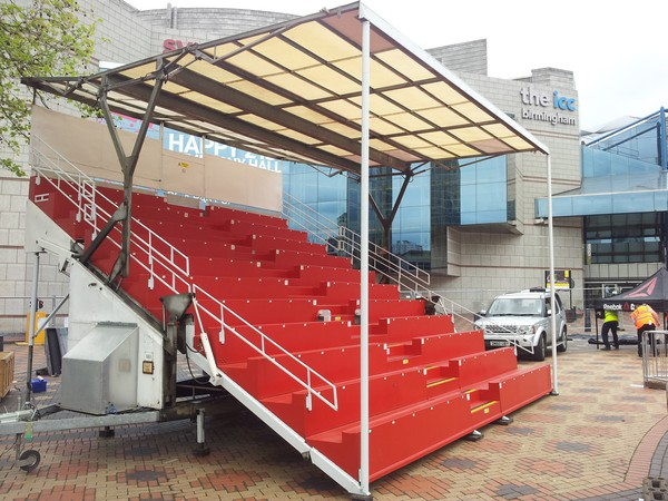 Portable event grand stand
