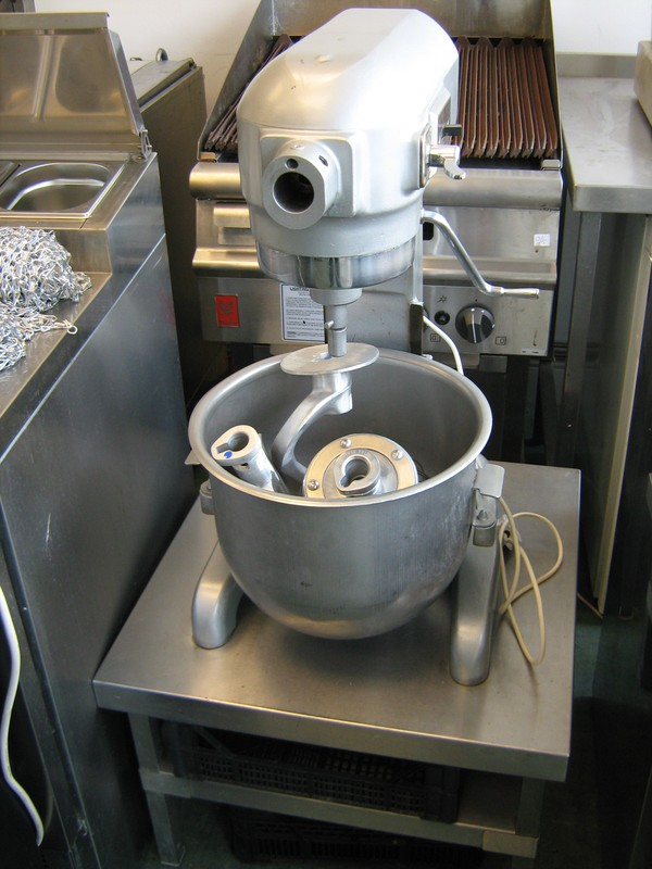 Hobart A200 Planetary Mixer on Stand