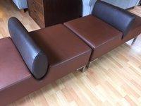 Pair of Italian designer seats
