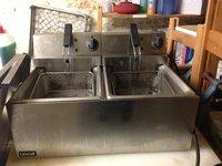 Lincat Twin Table Top Fryer