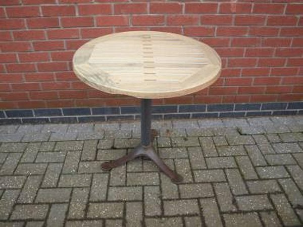 Out door tables with flip tops