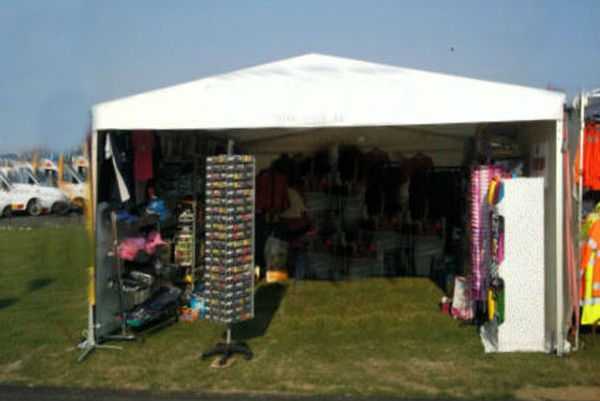 Market stall marquee