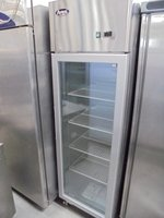 New Atosa Single Glass Door Upright Display Freezer (4951)