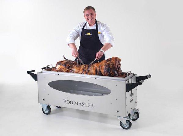 Hogmaster Hog Roaster with Glass Display