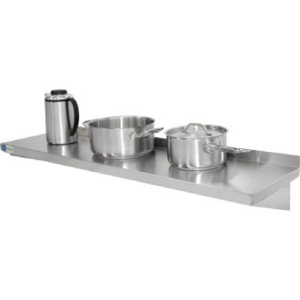 Vogue Stainless Steel Kitchen Shelf 1800mm