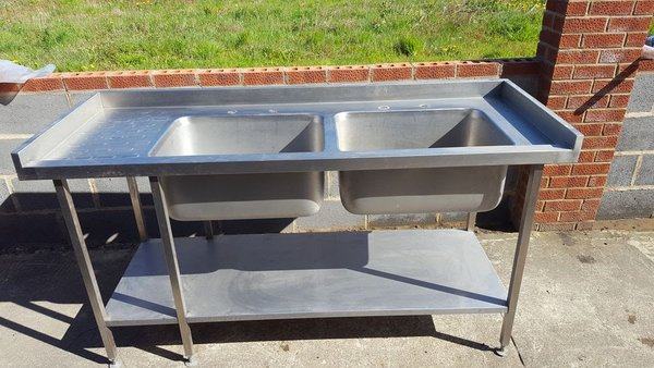 Double Bowl Sink New / Old Stock