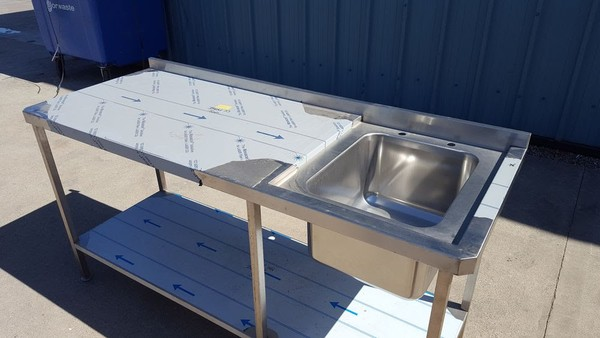 Secondhand Catering Equipment | Single Sinks