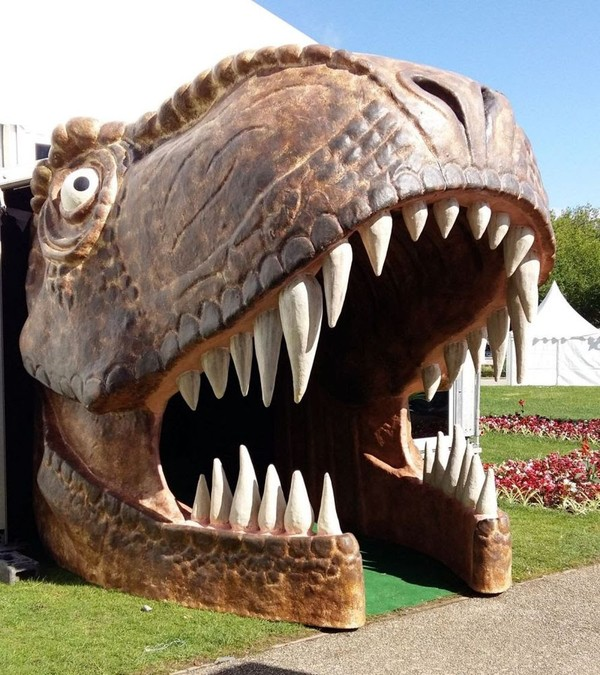 Interactive Dinosaur Entrance For Sale