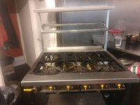 Commercial Gas Cooker 6 Burner