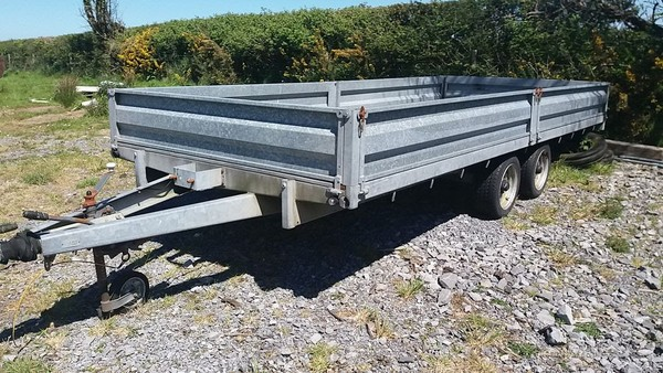 Wessex Flatbed Trailer