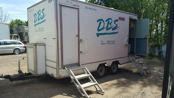 DBS Fresh Toilet Trailer