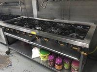Commercial 6 Burner Range Cooker Hob