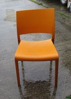 50x Stacking Orange Chairs