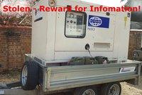Generator stolen