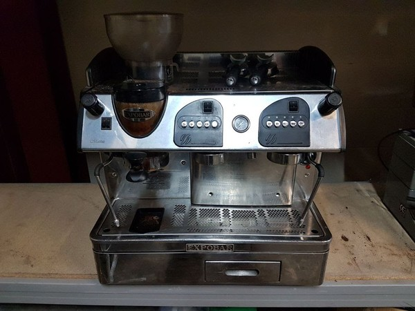 2-Group Espresso Machine