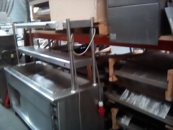 Hot Cupboard / Bains Marie / Double Heated Gantry
