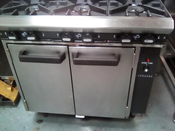 Blue Seal G50D 6 burner range
