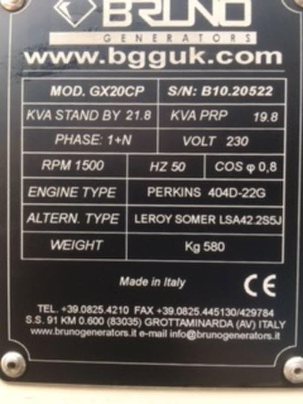 21.8Kva Generator