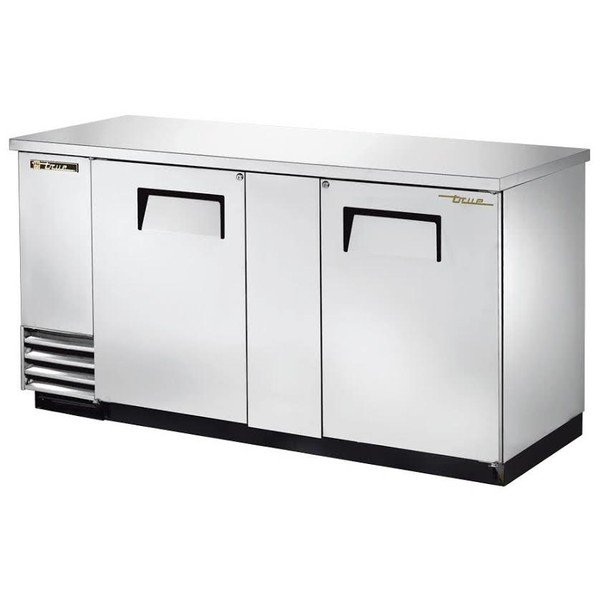 Two Solid Door Back Bar Cooler