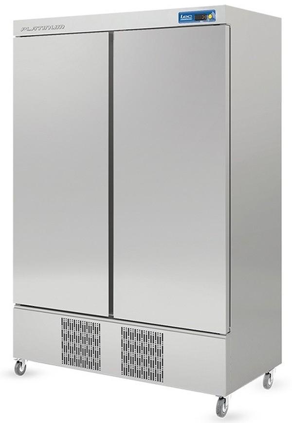 LEC Double Door Slimline Freezer
