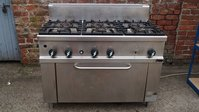Commercial Silko Gas 6 Burner Cooker