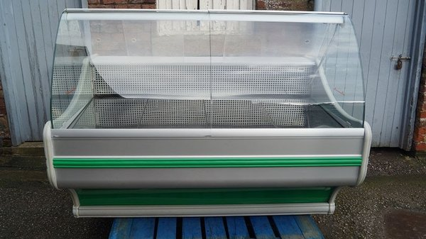 Refrigerated Serve Over Display Counter (Green)