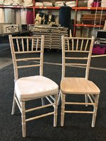 Lime Wash Chiavari Chairs