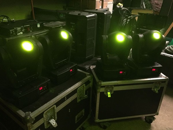 Mac 250 in Twin Flightcases