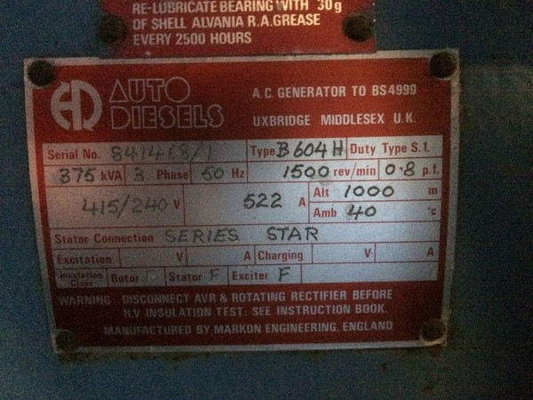 Secondhand Diesels B604H