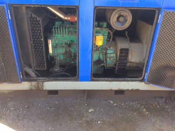 Super-Silenced 165kva Generator