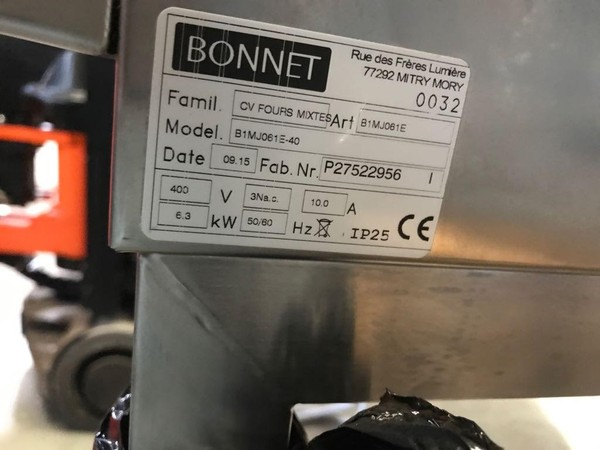 Bonnet Combination Oven