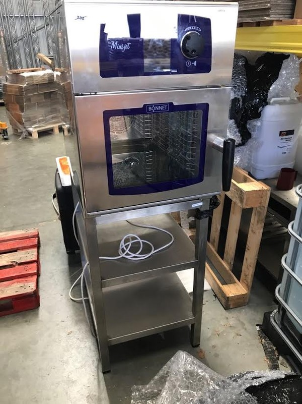 Bonnet Minijet Mini Combination Oven
