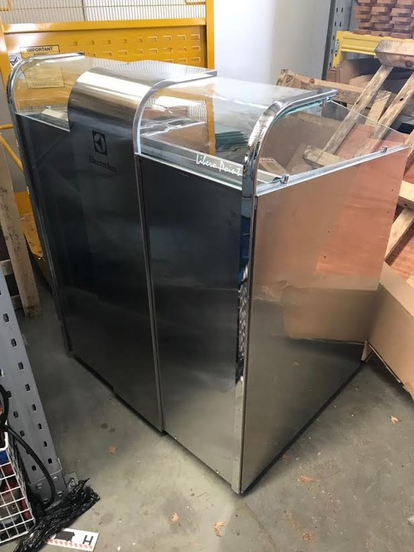 Electrolux - Libero Line - 2 Unit Freestanding Refrigerated Counter