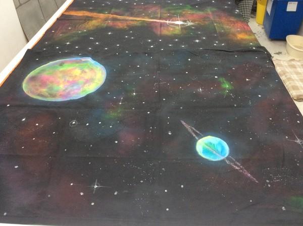 UV Space Backdrops - Southampton 11