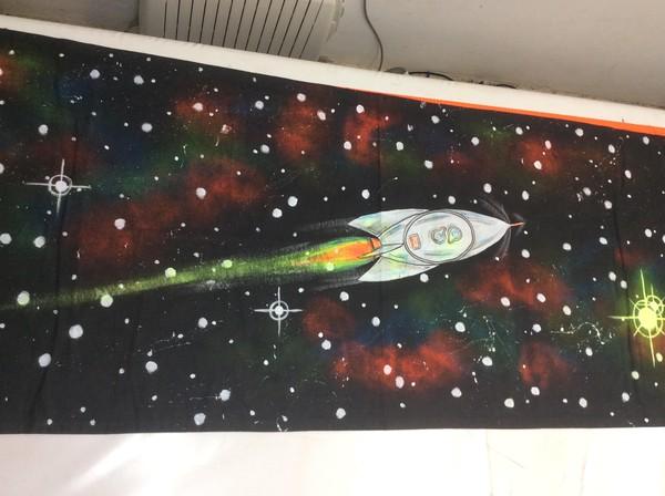 UV Space Backdrops - Southampton 12