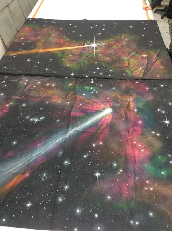 UV Space Backdrops - Southampton 5
