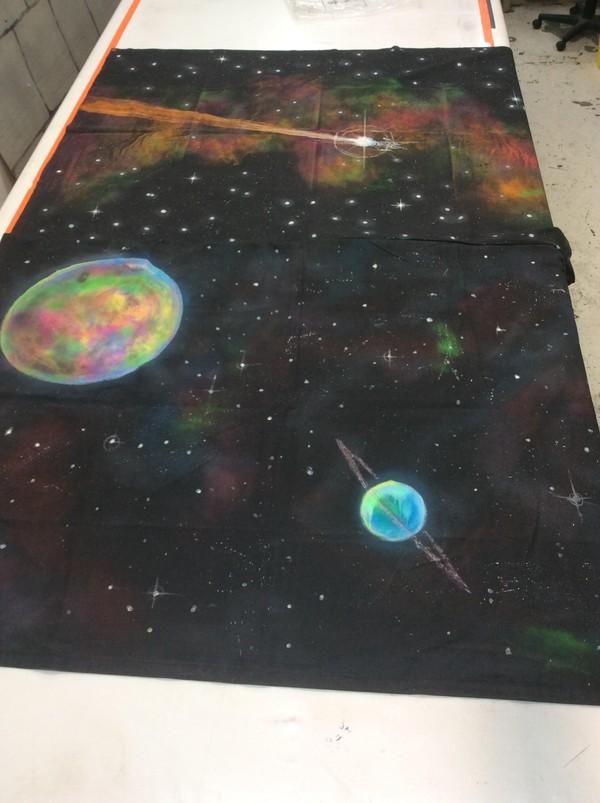 UV Space Backdrops - Southampton 10