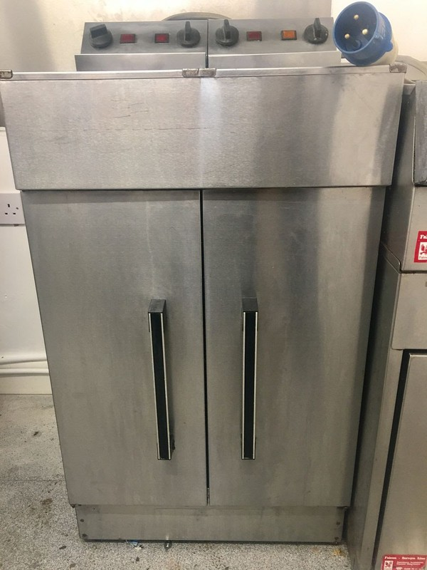 Double Electric Fryer