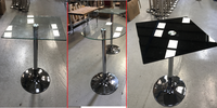 Poseur Glass Tables