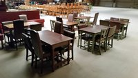 6 tables with 24 chairs - Derby