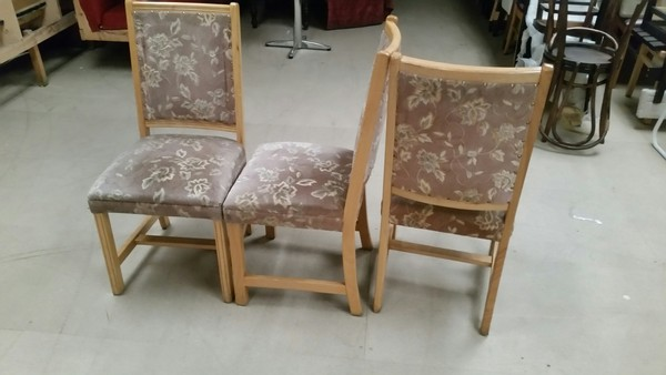 50 upholstered chairs - Derby