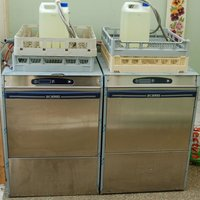 2x DC Series Dishwasher PD 50 ISD EVO