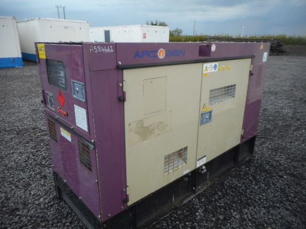 50kva Generator Standby Electric Isuzu Engine Denyo Arcgen - North Yorkshire 2